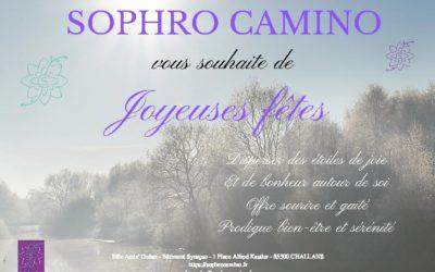 JOYEUSES FÊTES AVEC SOPHRO CAMINO